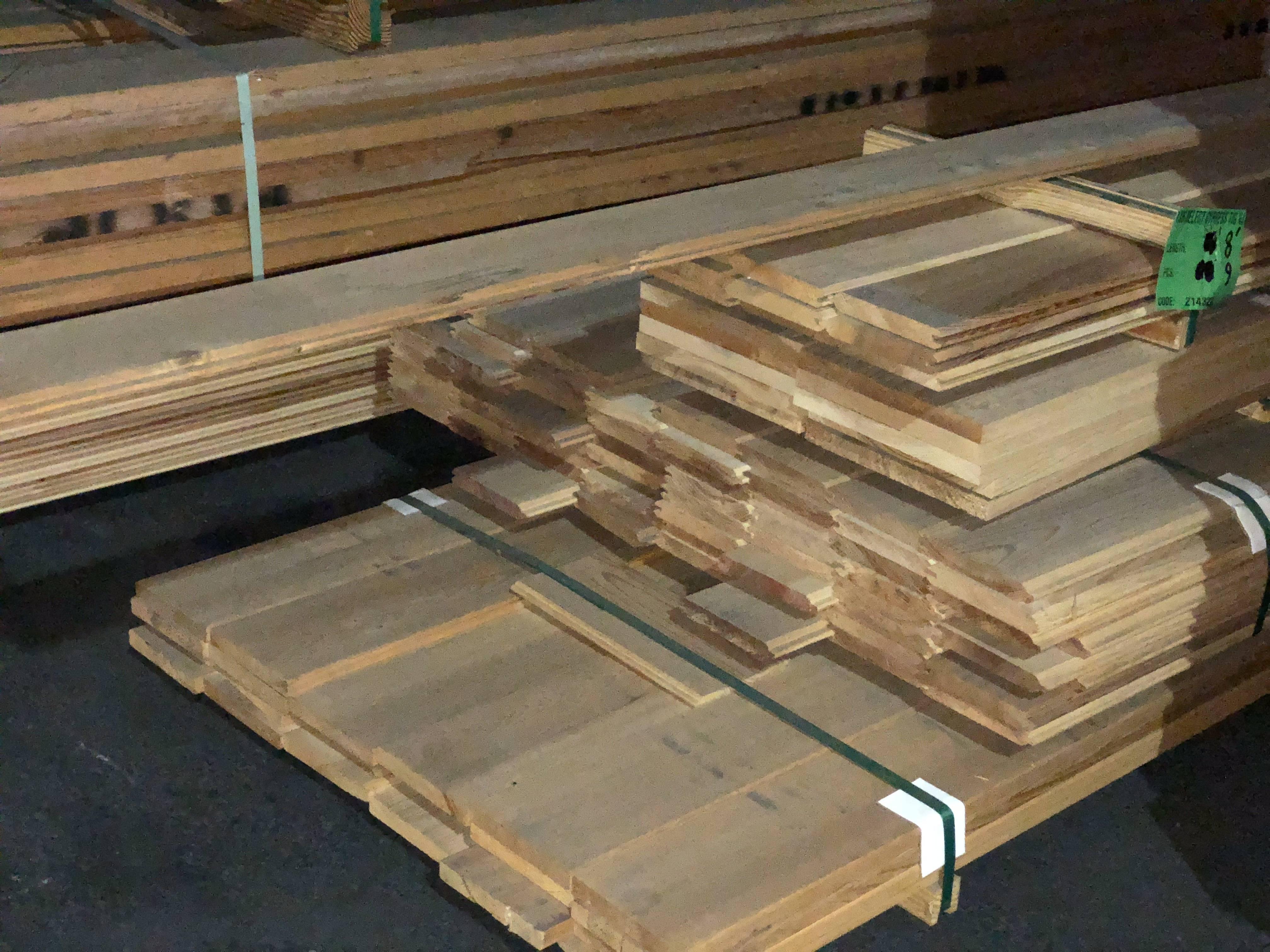 V-Joint Select Cypress Hardwood